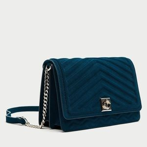 Suede Zara Crossbody Bag